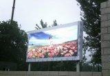 Parede ao ar livre de anúncio grande do vídeo do indicador de diodo emissor de luz do quadro de avisos P8/Screen/LED