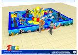 Equipo de interior temático del patio de Todder del océano con inflable