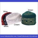 Diseño del bordado del casquillo del nuevo estilo 2016 para vender al por menor y al por mayor musulmanes