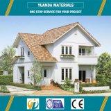 Construcción de viviendas prefabricada de la estructura de acero con los paneles concretos ligeros