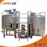 Gebruikte Kleine of Grote 500L het Brouwen van het Systeem van de Brouwerij van het Bier Apparatuur