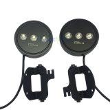 Alta calidad 15W luz de niebla lista para el uso de Luminex LED del Wrangler del jeep de 4 pulgadas