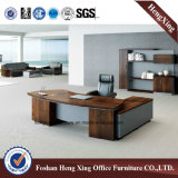 Самомоднейшая офисная мебель l стол управленческого офиса меламина формы (HX-ND5072)