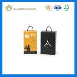 Schoenen die van het Document van de Kleurendruk van de douane de Volledige Vouwbare GolfVakje (met Handvat) inpakken