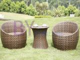 PEの藤棒屋外の家具の椅子セット