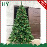 Albero di Natale Mixed del PE/PVC di alta qualità