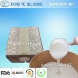 Borracha de espuma de silicone de platina líquida para 6 vezes espumante