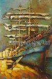 décor de mur de peinture en métal 3D pour le bateau