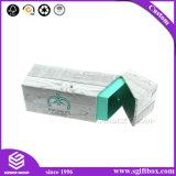 Caixa de presente Handmade da mini Lanç-Parte superior de madeira dos desenhos animados do teste padrão