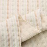 Ткань Джерси куклы органической ткани жаккарда хлопка органическая для одежд зимы