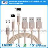 Buen cable de carga 2.1A de la calidad los 3.3FT