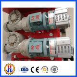Мотор здания подъемного двигателя конструкции поднимаясь, редуктор скорости