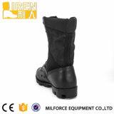 2017の方法高品質の黒の革軍の戦闘用ブーツ