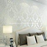 Etiqueta engomada grabada modificada para requisitos particulares brillante del papel del panel de pared
