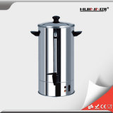Urna de café caliente comercial Slivery eléctrica del acero inoxidable