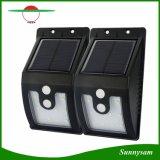 10 LED-helle Solarim Freien mit den Bewegungs-Fühler-Solarlampen 300 Lumen wasserdicht für Garten-Sicherheits-Lampe