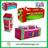 De aangepaste Materiële Zakken van de Reis voor Vrolijke Kerstmis