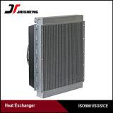 Refrigerador de petróleo hidráulico de aluminio cubierto con bronce del excavador de la aleta de la placa del vacío