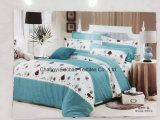 Insieme adulto stampato del cotone/poli re Fitted del Bedspread Patchwork Bedding