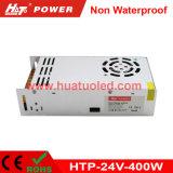24V-400W bloc d'alimentation non imperméable à l'eau continuel de la tension DEL