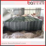 Feuille ondulée d'acier inoxydable de PPGI pour le toit de construction