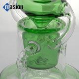 La turbina del favo ricicla il tubo di acqua di vetro verde dell'impianto offshore (da 004)