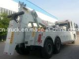 Camion di rimorchio del rotatore di HOWO 6X4 16ton da vendere