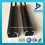 Profil en aluminium personnalisé d'extrusion de longeron de piste de porte