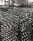 Ringlockの足場のためのまっすぐな鋼鉄またはアルミニウムまたはアルミニウム足場のステップ梯子