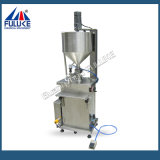 Fgj Semi-Auto Pneumatic Small Scale Cream / Llotion / Liquid Filling Machine