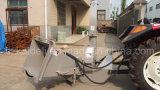 """6 """" que saltaran el burilador de madera montado alimentador hidráulico de la alimentación 30-100HP del diámetro"""