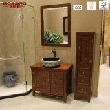 Module en bois imperméable à l'eau antique de vanité de salle de bains de bois de rose/teck (GSP14-004)