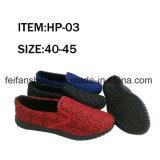 La lona caliente de la venta se divierte los zapatos del ocio de los zapatos para los hombres