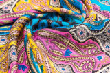 Écharpe chaude de soie de Madame Elegant 100% d'impression de Digitals de vente de Hangzhou