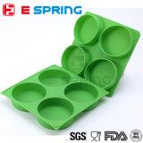 4 la cavité BPA libèrent le plateau de congélateur de viande de générateur d'hamburger de silicones