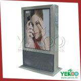 Алюминиевый статический торговый центр металла светлой коробки рекламируя светлую коробку