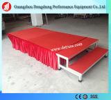Этап алюминиевого сплава этапа высокого качества Moving складывая