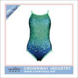 Zwemt het Sexy Één stuk van Swimwear van dames Kostuum met Digitale Druk