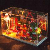 Juguete de madera del regalo de la Navidad de DIY mini para los amigos y la familia