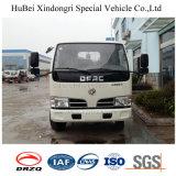 Euro4 유압 작은 쓰레기 트럭을 드는 4cbm Dongfeng 훅 팔 유형