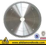 La circular del Tct del diamante vio la lámina para el aluminio del corte