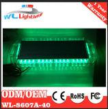 40 de LEIDENE Mini Lichte Staaf van de Waarschuwing met Magnetische Basis