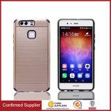 Più nuovi TPU comerciano la cassa all'ingrosso del telefono delle cellule di modo di stile di trafilatura per Huawei P9