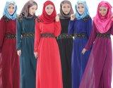 Material muçulmano do poliéster do vestido da mulher para Malaysia
