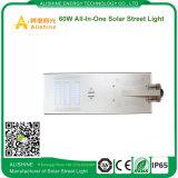 60watts PIR 운동 측정기를 가진 한세트 태양 LED 가로등