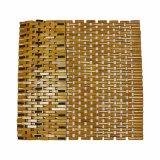 Stuoia di bagno di bambù naturale del blocco per la stanza da bagno