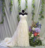2017 Sprung-Ansammlungs-reales Kleid-nach Maß Hochzeits-Kleid (Dream-100100)