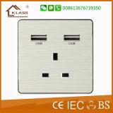 Zoccolo chiaro elettrico di vendita caldo dell'interruttore della parete della casa poco costosa di prezzi