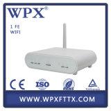 Módem Epon ONU de FTTH Epon WiFi 1fe ONU para la red óptica de fibra