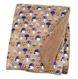 高品質の使い捨て可能なMinkyの赤ん坊毛布